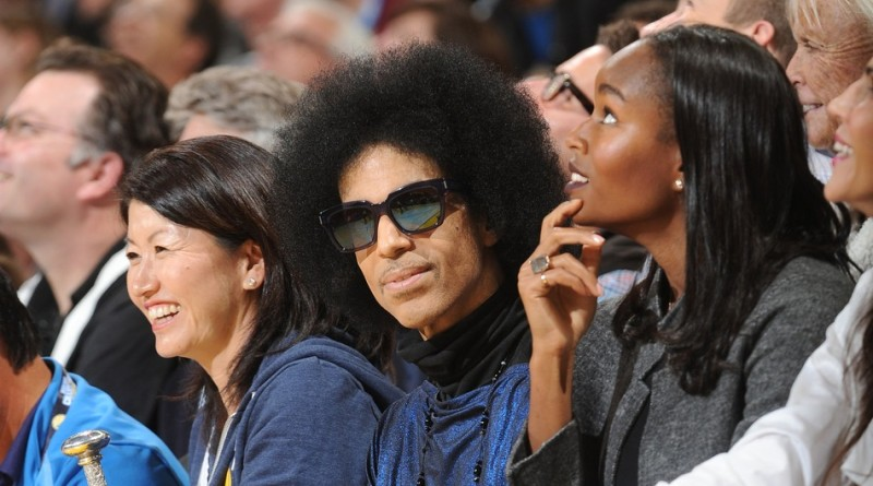 A basketball game happened in front of Prince Thursday