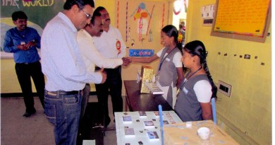 On the occasion, students exhibited science models and charts, among which 'Tribute to Siachen' was the highlight.