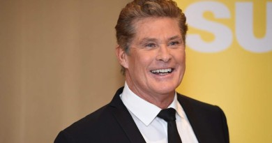 David Hasselhoff Press Helsinki JAN 15