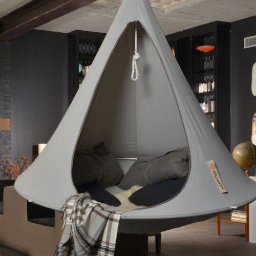 Grey Double Hanging Cacoon