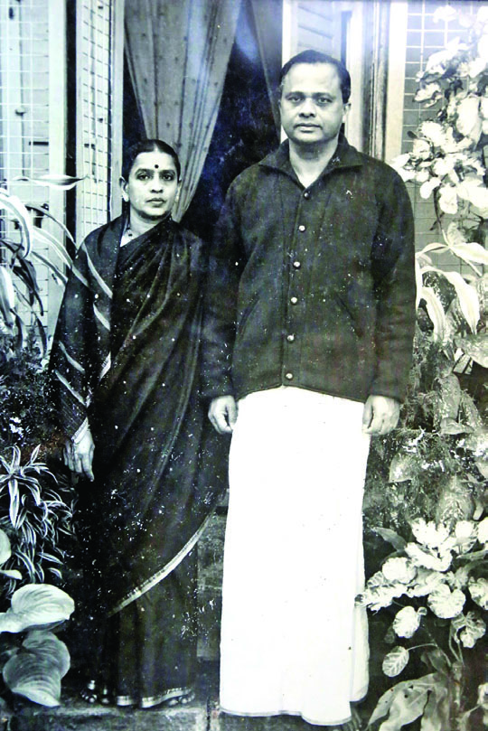 With Wife Savithramma