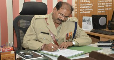 N Rudramuni takes charge as DCP