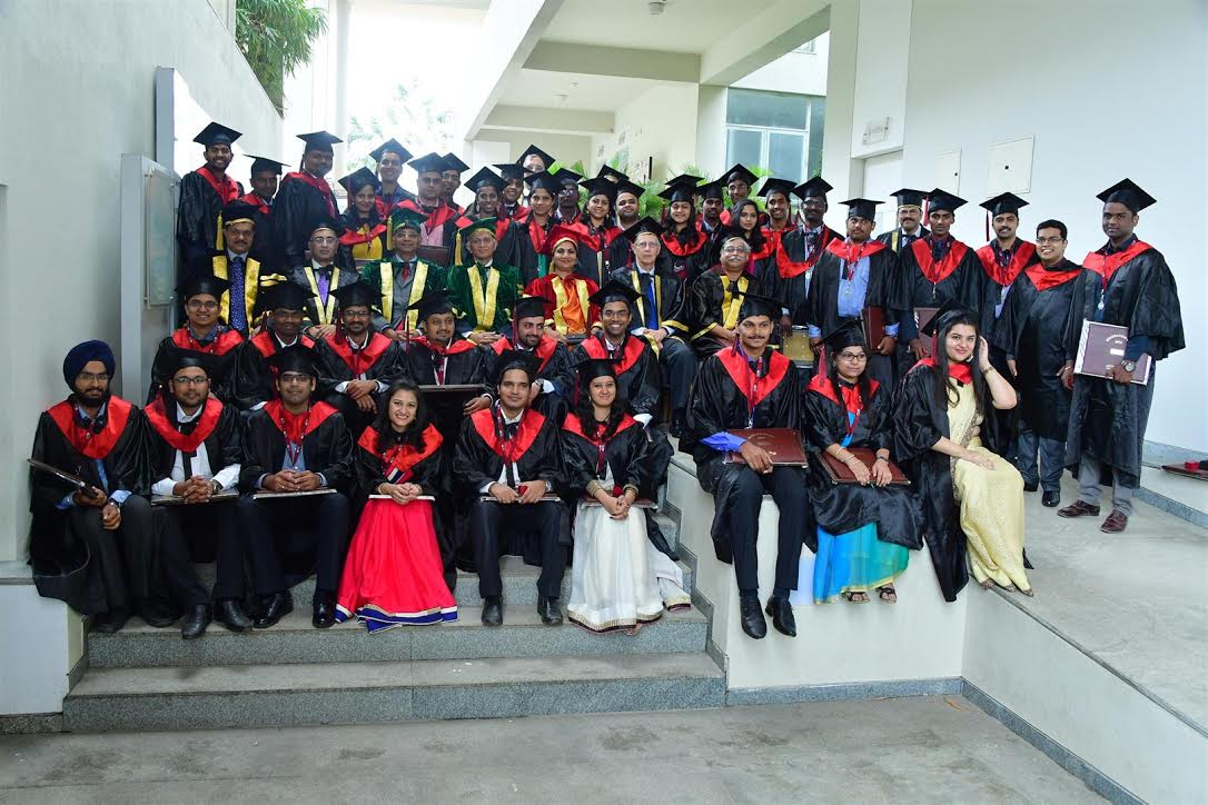 45 PGDM & 15 PGPX  students were honoured on the ocassion