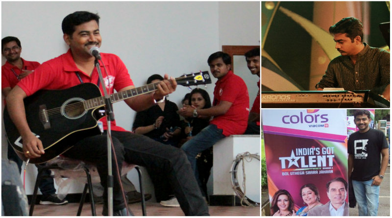 Redefining music_Sharath S_city-based musician