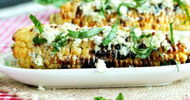 Grilled-Corn-with-Basil
