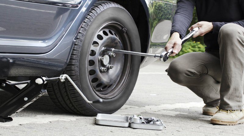 How to Change your Busted Tire