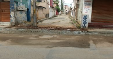 Damped and dusted roads 4