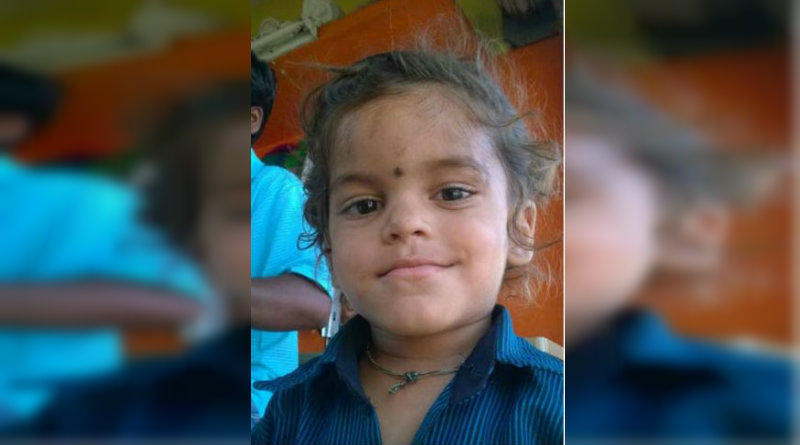 Child dies falling into sambar