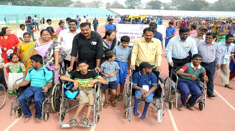 essay on differently abled