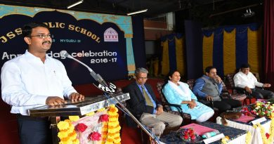 Annual day held at JSS Public School