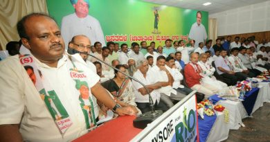 Keshavmurthy is JD(S) candidate for Nanjangud by-poll