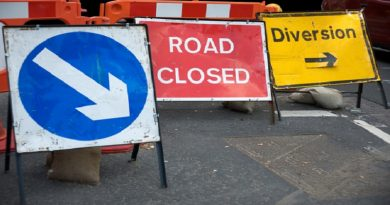 Road diversion