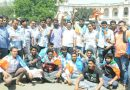 Diary case: NSUI activists stage protest against BJP, demand independent probe