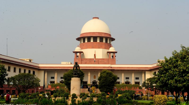 View of Supreme Court of India in Delhi on 26 February 2014.  Manit.DNA