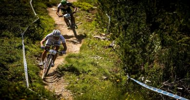At UCI MTB World Cup, Valnord, Andorra. Mens XCO