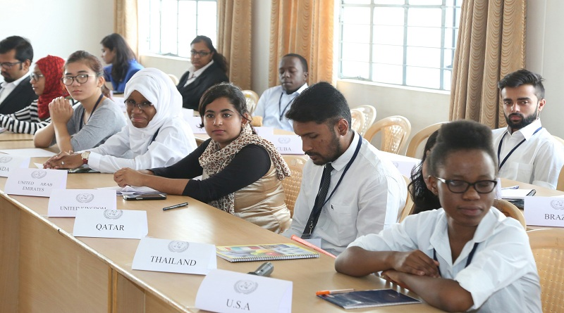 'Model' United Nations conference-2017 held; students ...