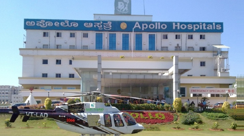 Apollo Hospital to offer Air Ambulance service in Mysuru - Mysuru Today