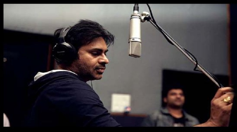 Pawan-Kalyan-Sings-Folk-Song-In-His-upcoming-Sardaar-Gabbar-Singh-Movie