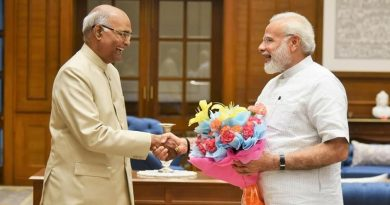 Pm Modi with Pres Kovind