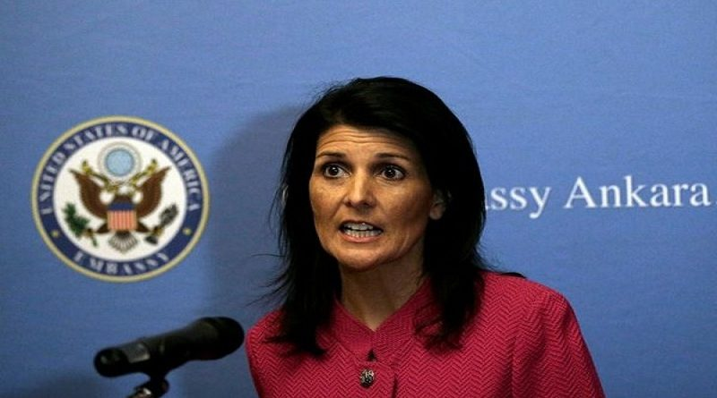 Nikki Haley To Raise India S Bid For Permanent Seat In