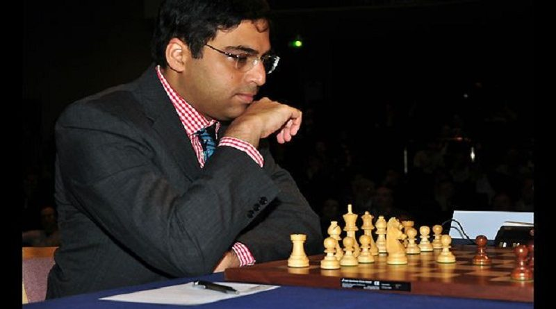 Anand finishes joint 8th in St Louis Rapid
