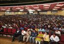 Youth in thousands throng Dasara Yuva Anveshane at Kalamandir