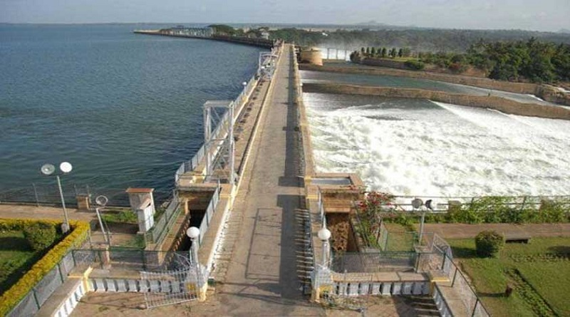 Image result for Cauvery water received by Tamilnadu due to surplus from its Kabini dam