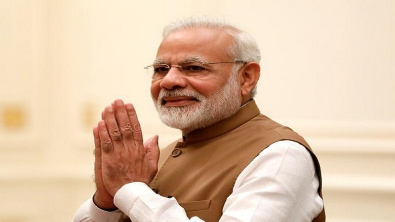 PM Modi greets the nation