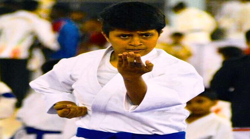 Deia  Urs wins gold at state senior karate championship