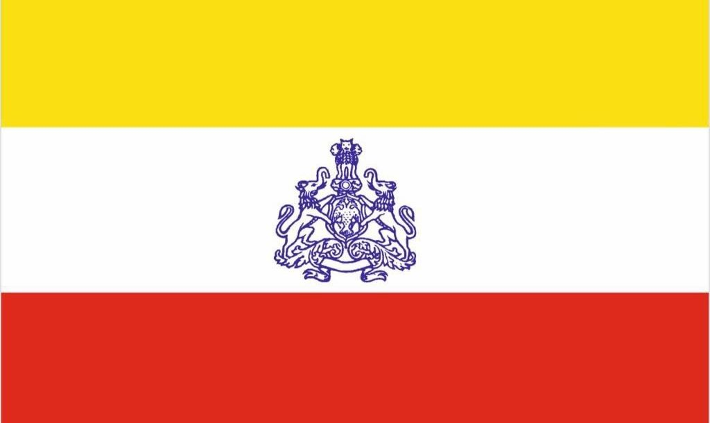 cong questions bjps silence on proposed state flag
