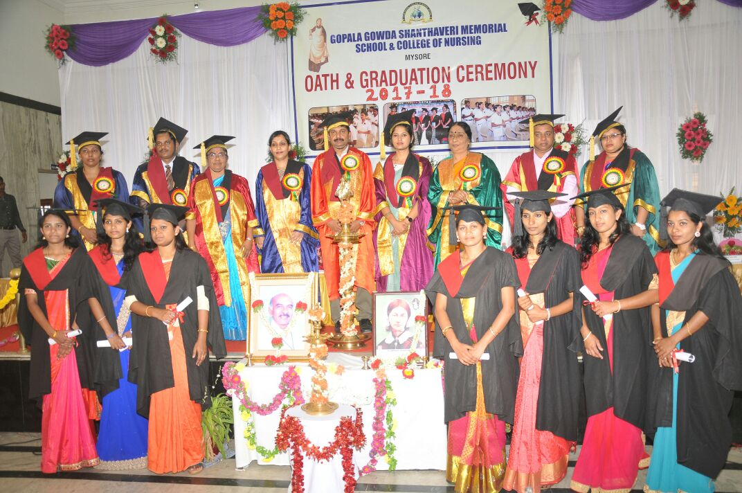 Graduation ceremony of Gopala Gowda Shanthaveri memorial ...